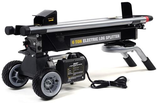Goplus 6 Ton 1500W Hydraulic Electric Log Splitter Powerful Portable Wood Cutter