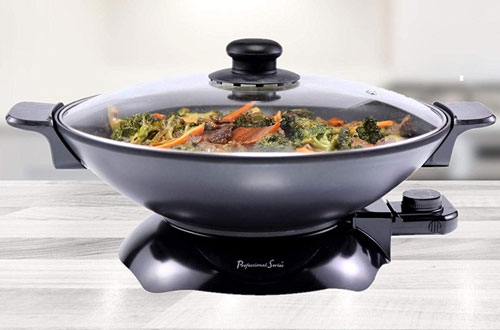 Continental Electric Non-Stick Chef Wok Pan - PS-SK309