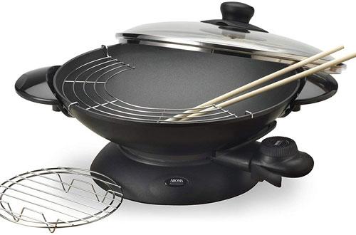 Aroma Housewares 5-Quart Electric Wok