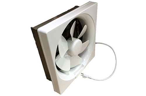Professional Shutter Exhaust Fan for Garage/ Hydroponic Ventilation