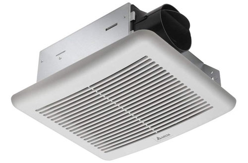 Delta Breez SLM70 Slim 70 CFM Ceiling Exhaust Fan for Kitchen