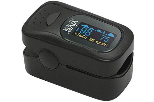 Vive SpO2 Device for Blood Oxygen Saturation - Fingertip Ox Meter