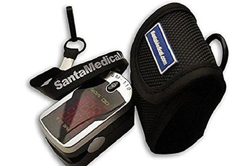 Santamedical Deluxe SM-110 Finger Pulse Oximeter