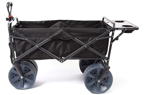 Mac Sports Heavy Duty Collapsible Folding Wagon Beach Cart