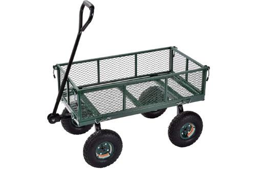 Sandusky Lee400 lbMuscle Carts Steel Utility Garden Wagon