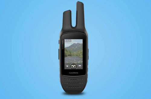 Garmin Rino 755t Handheld GPS Navigator with Camera & Mapping