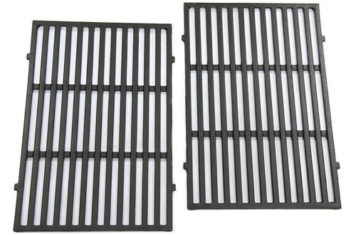 Hongso PCG638 Matte Cast Iron Grill Grid Grates for Weber