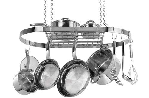 Range Kleen CW6001 Stainless Steel Hanging Pot Rack