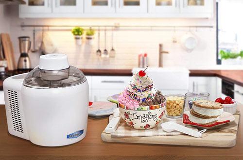 Mr. Freeze EIM-700 Self-Freezing & Self-Refrigerating Ice Cream Maker