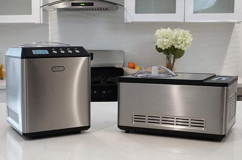 Whynter ICM-200LS Silver Stainless Steel Ice Cream Maker 2.1-Quart