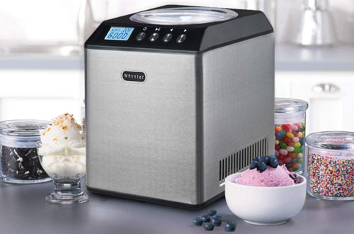 Whynter ICM-201SB Upright Homemade Ice Cream Maker with Bowl