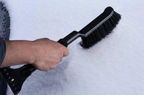 OxGordWindshieldIce Scraper for Car with Snow Brush