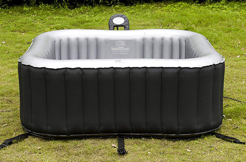 MSPA Relaxation M-009LS Lite Alpine Square Outdoor Spas, 4 Person