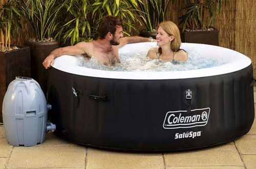 Inflatable 4-Person Spa Hot Tub – Coleman