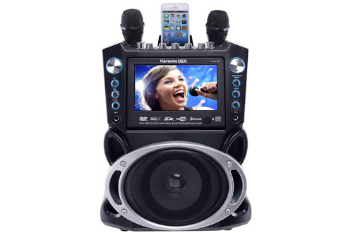 Karaoke USA GF840 Portable Karaoke System Machine