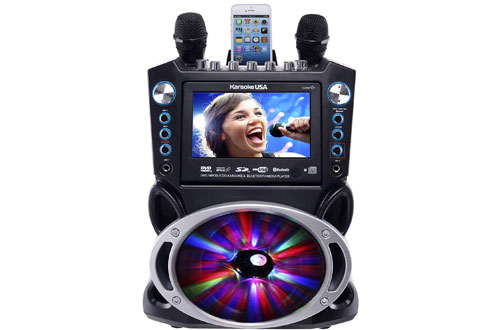 Karaoke GF842 Bluetooth Karaoke System with TFT Color Screen
