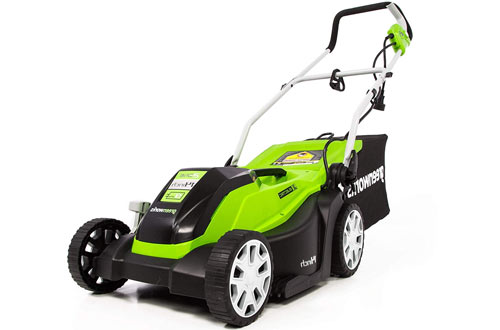 "GreenWorks 14"" 9 Amp Corded Lawn Mower"