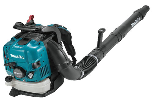 Makita EB7650WH 75.6 cc MM4 Gas Powered Backpack Leaf Blower