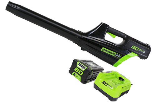 Greenworks GBL80300 Battery Powered Cordless Blower