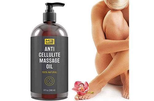 M3 Natural Anti Cellulite Massage Oil - Essential Oils Treatment