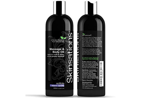 Skinsations Organic Natural Massage and Body Oil
