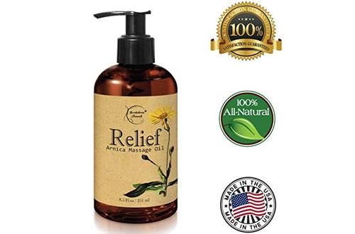 Brookethorne Naturals Relief Arnica Body Massage Oil