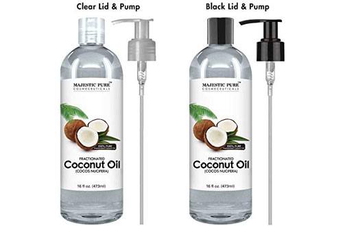 Majestic Pure Coconut Massage Oilfor Hair & Skin Care Benefits