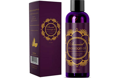 Honeydew Sensual Massage Oil with Pure Lavender Oil