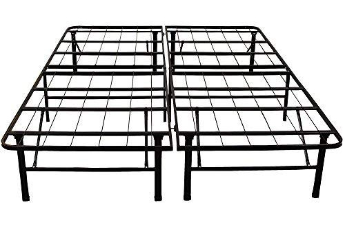 Heavy Duty 14-Inch Full Metal Bed Frame – Classic Brands Hercules