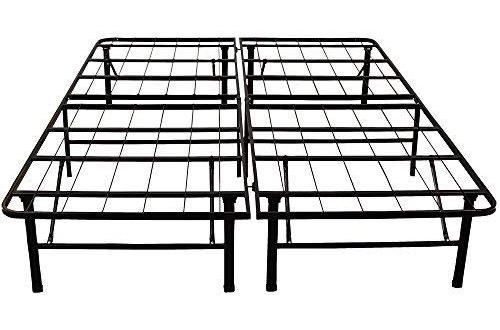 Heavy Duty 14-Inch Full Metal Bed Frame – Classic Brands Hercules