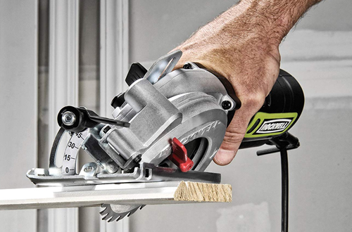 Rockwell RK3441K Compact Circular Saw with Dust Port & Accessory Kit