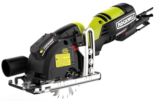 Ultra-Small Circular Saw with Blads– Rockwell RK3440K