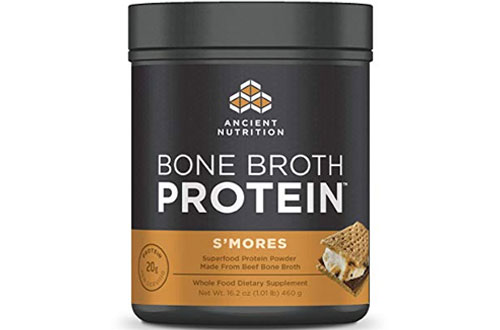 Ancient Nutrition Bone Broth Flavour Protein Powder