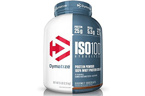 Dymatize ISO Pure Whey Protein Powder Isolate - Gourmet Chocolate
