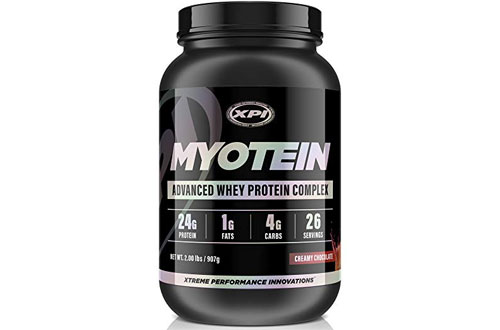 XPI Myotein Whey Protein Powder- Great Tasting Protein