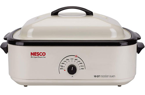 Nesco Classic 18-Quart Roaster Oven - Non-stick Cookwell