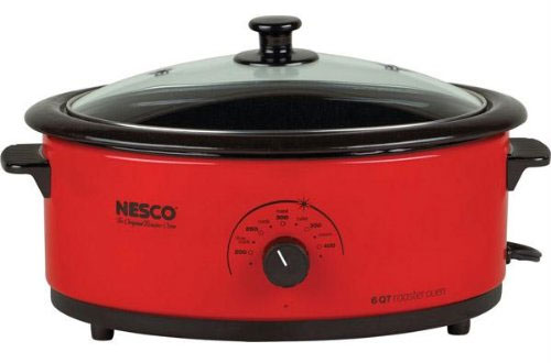 Nesco 6-Quart Porcelain Roaster Oven
