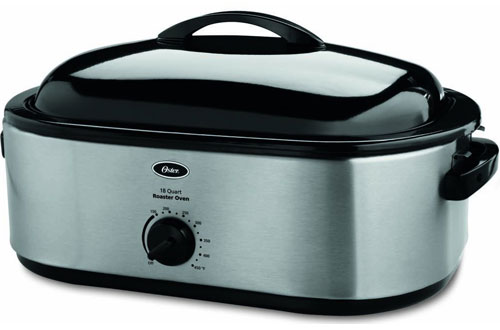 Oster18-QuartRoaster Oven with Self-Basting Lid