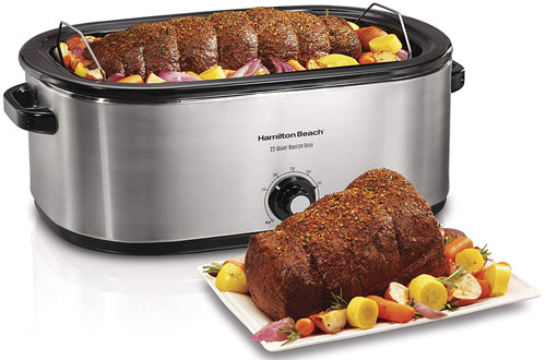 Hamilton Beach 28 Lb Turkey Roaster Oven - 22 Quart