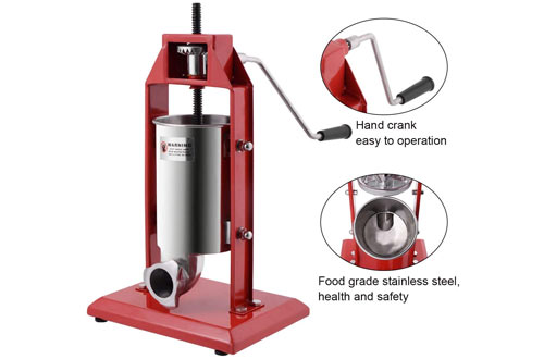 Goplus 3L Vertical Sausage Grinder Maker 7LB for Home & Commercial Use
