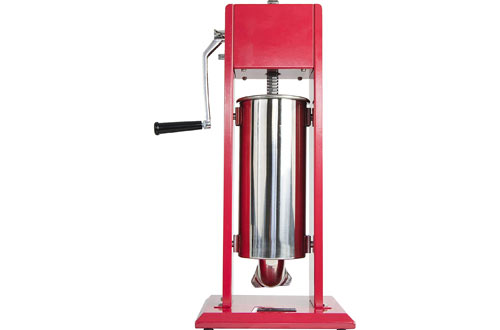 VIVO Vertical Stainless Steel Sausage Stuffer 5L/11LB Meat Filler