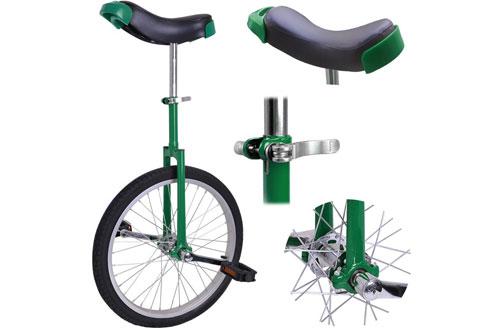 AW 20-Inch ChromeLeakproof Butyl TireWheel Unicycle