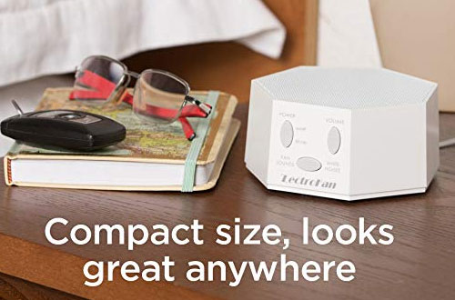 LectroFan High-Fidelity White Noise Machine with Sleep Timer