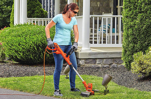 Black and Decker BESTE620 Electric Grass Trimmer for Lawn
