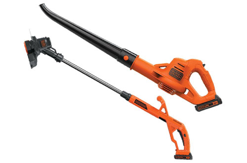 BLACK + DECKER LCC221 20V String Trimmer and Edger Plus Sweeper