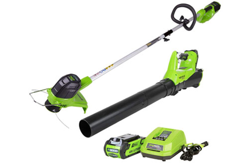 Greenworks 40V Battery Cordless String Trimmer - STBA40B210