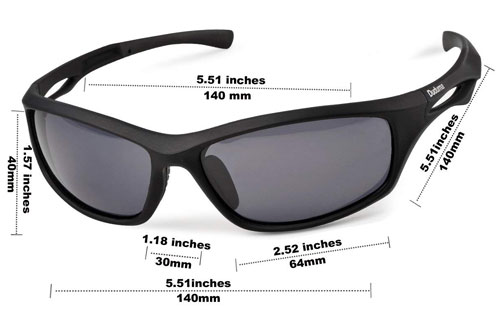Duduma Tr90 Polarized Sunglasses for Running, Cycling & Golf