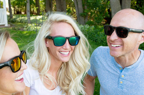 Inventiv Wireless Bluetooth Sunglasses for Men & Women