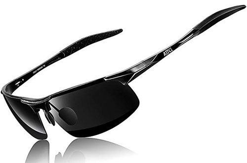 ATTCL HOT Fashion Driving Polarized Sunglasses with Metal Frame