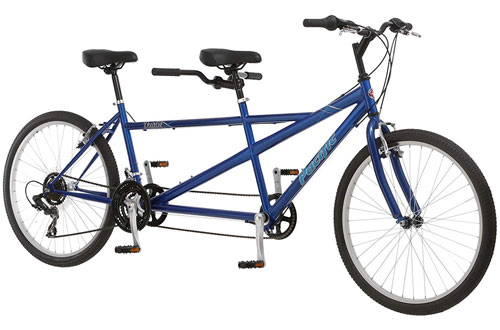 Pacific Dualie Two Seater Bike with 26-Inch Wheels